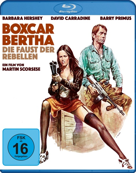 Boxcar Bertha - Die Faust der Rebellen (Blu-ray)