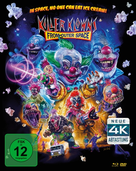 Killer Klowns (Remastered Mediabook, 1 Blu-ray + 2 DVDs)