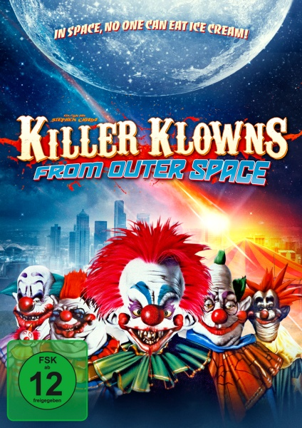 Killer Klowns from Outer Space (Mediabook, 1 Blu-ray + 2 DVDs)