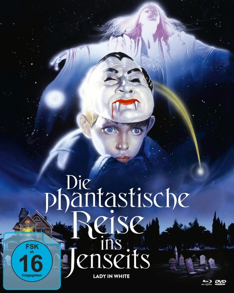 Die phantastische Reise ins Jenseits (Mediabook A, 2 Blu-rays + 1 DVD)