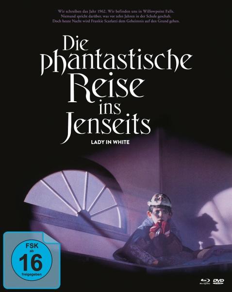Die phantastische Reise ins Jenseits (Mediabook B, 2 Blu-rays + 1 DVD)