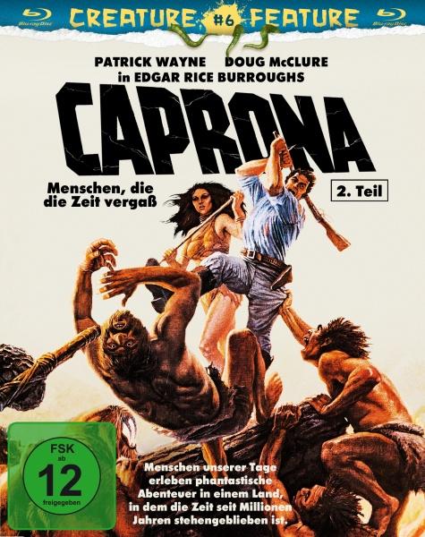 Caprona 2 - Menschen, die die Zeit vergaß (Blu-ray)