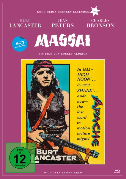 Massai - Der grosse Apache (Edition Western-Legenden #53) (Blu-ray)