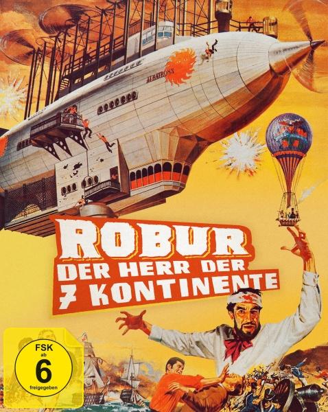 Robur - Der Herr der sieben Kontinente (Mediabook, Blu-ray+DVD) (Version B)