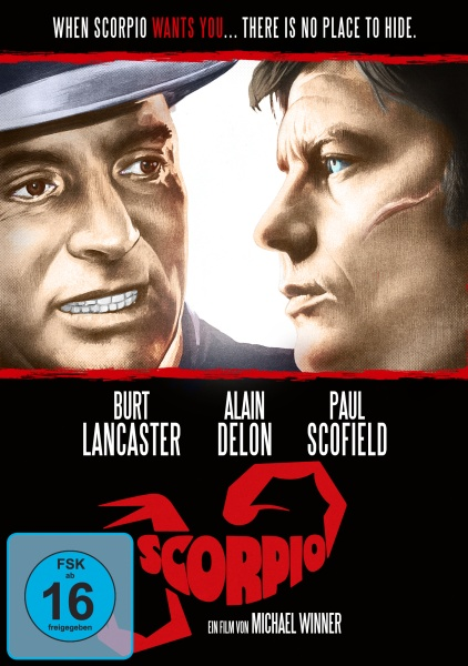 Scorpio, der Killer (DVD)