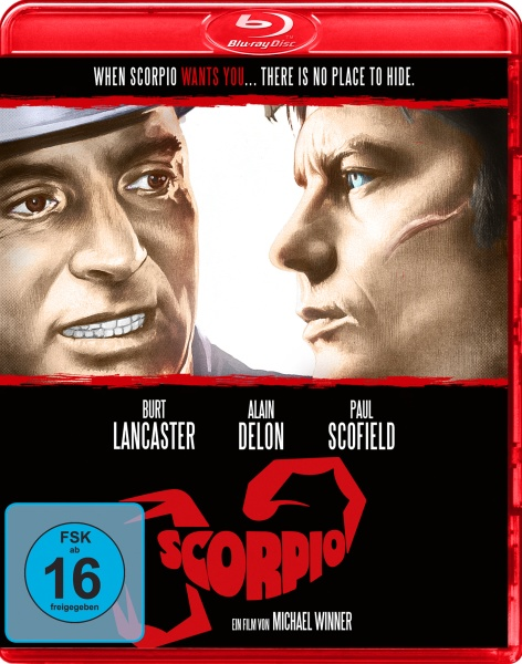 Scorpio, der Killer (Blu-ray)