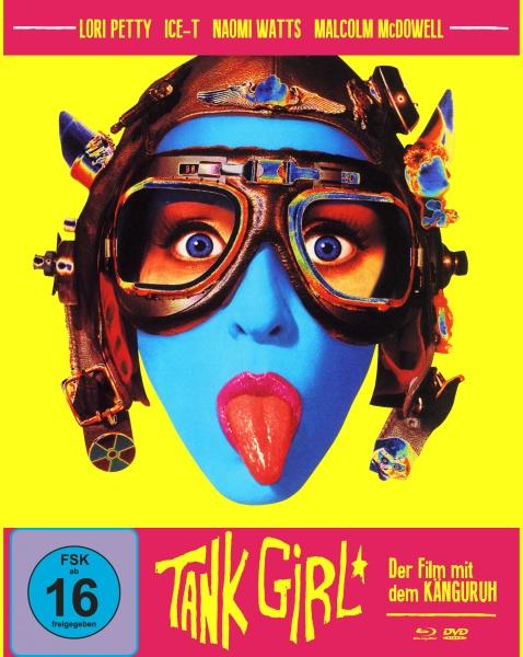 Tank Girl (Mediabook A, Blu-ray + DVD)