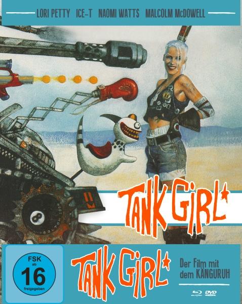 Tank Girl (Mediabook B, Blu-ray + DVD)