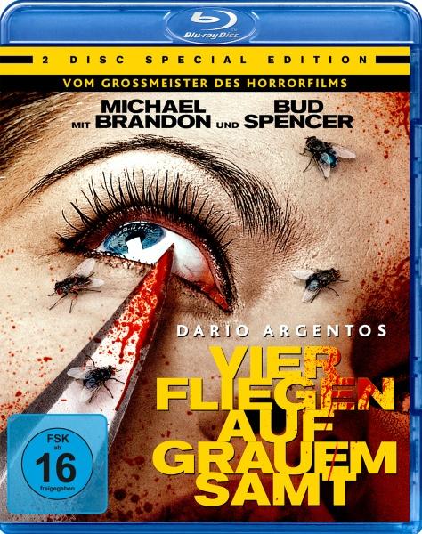 Dario Argentos Vier Fliegen auf grauem Samt (1 Blu-ray + 1 DVD)