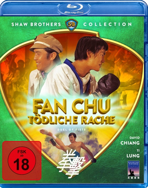 Fan Chu - Tödliche Rache - Duel Of Fists (Blu-ray)
