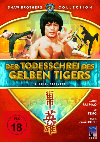 Der Todesschrei des gelben Tigers - Shaolin Rescuers (Shaw Brothers Collection) (DVD)