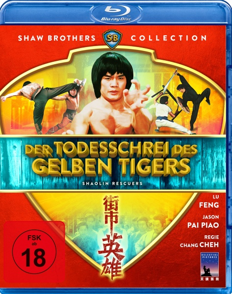 Der Todesschrei des gelben Tigers - Shaolin Rescuers (Shaw Brothers Collection) (Blu-ray)