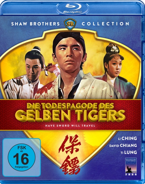 Todespagode des gelben Tigers - Have Sword Will Travel (Shaw Brothers Collection) (Blu-ray)