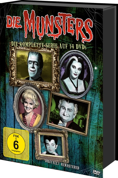 Die Munsters - Die komplette Serie (Keepcase) (14 DVDs)