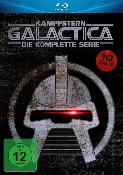 Kampfstern Galactica - Die komplette Serie in HD (9 Blu-rays + 1 DVD)