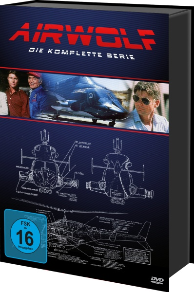 Airwolf - Die komplette Serie (Keepcase) (21 DVDs)