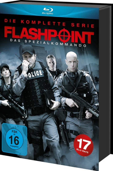 Flashpoint - Die komplette Serie in HD (Keepcase) (17 Blu-rays)