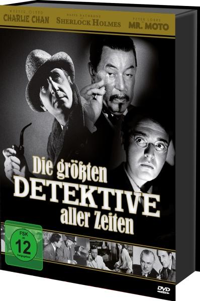 Die größten Detektive aller Zeiten - Box (Keepcase) (34 DVDs)