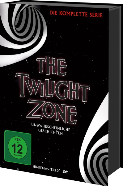 The Twilight Zone - Die komplette Serie (Keepcase) (30 DVDs)