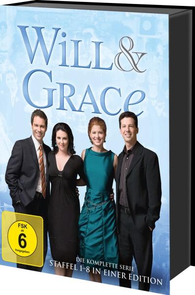 Will & Grace - Die komplette Serie (32 DVDs + Bonus-DVD)