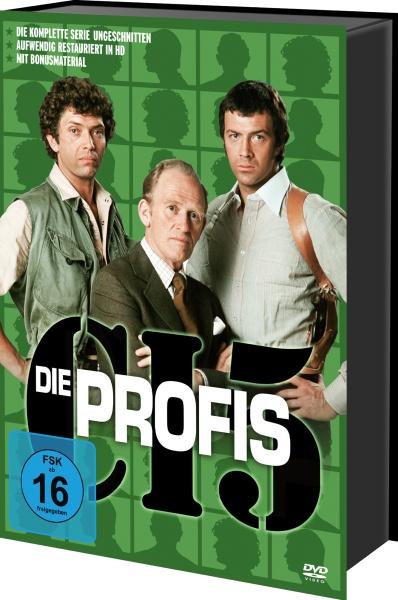 Die Profis - Die komplette Serie (Keepcase) (21 DVDs)