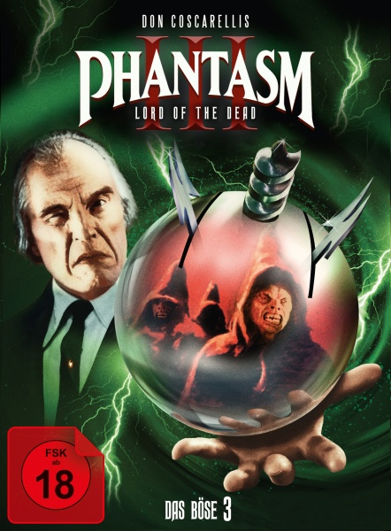 Phantasm III- Das Böse III (Mediabook, 1 Blu-ray + 2 DVDs) (Version B)