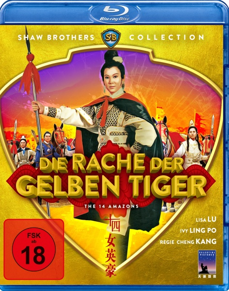 Die Rache der gelben Tiger (Shaw Brothers Collection) (Blu-ray)