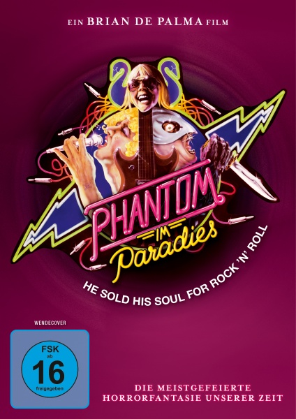 Phantom im Paradies - Phantom of the Paradise (DVD)