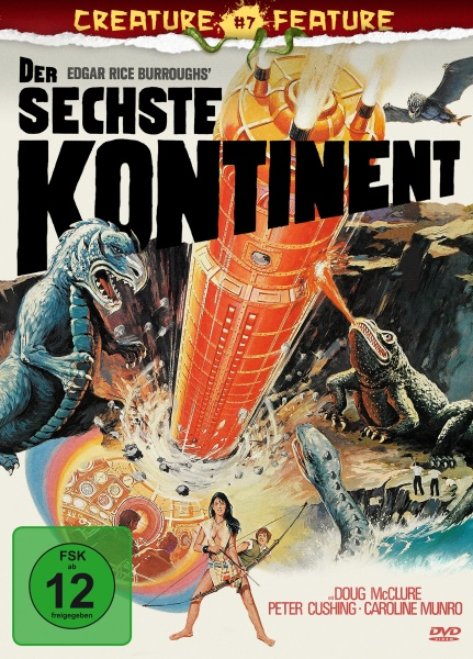 Der sechste Kontinent (Creature Features Collection #7) (DVD)