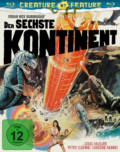 Der sechste Kontinent (Creature Features Collection #7) (Blu-ray)