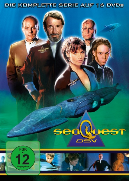SeaQuest - Die komplette Serie (Keepcase) (16 DVDs)