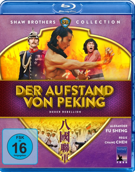 Der Aufstand von Peking - Boxer Rebellion (Shaw Brothers Collection) (Blu-ray)