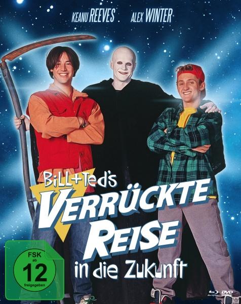 Bill & Teds verrückte Reise in die Zukunft (Mediabook, 2 Blu-rays + 1 DVD)