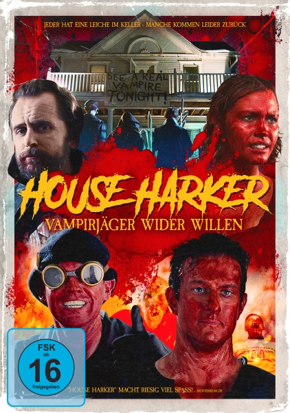 House Harker - Vampirjäger wider Willen (DVD)