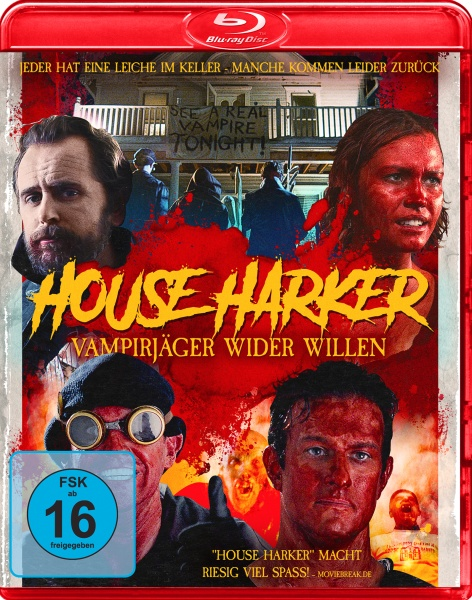 House Harker - Vampirjäger wider Willen (Blu-ray)