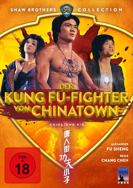 Der Kung Fu-Fighter von Chinatown - Chinatown Kid (Shaw Brothers Collection) (DVD)