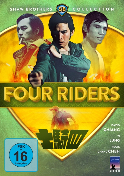 Four Riders (Shaw Brothers Collection) (DVD)