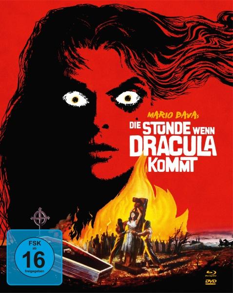 Die Stunde, wenn Dracula kommt (Mediabook, 1 Blu-ray + 2 DVDs)
