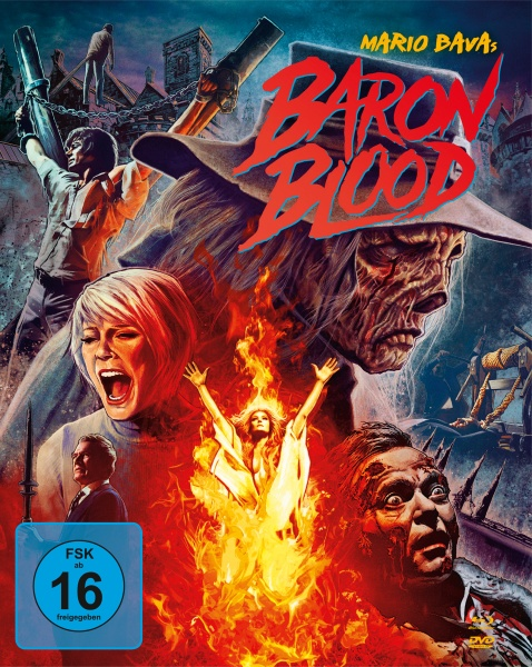 Baron Blood (Mediabook, 1 Blu-ray + 2 DVDs)
