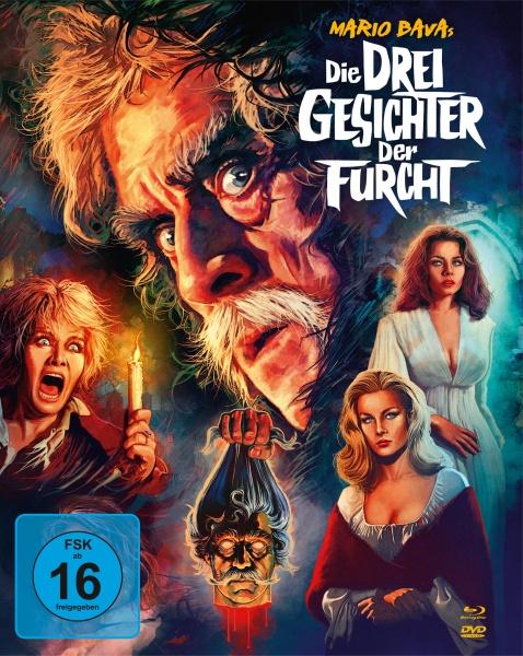 Die drei Gesichter der Furcht (Mediabook, 1 Blu-ray + 2 DVDs)