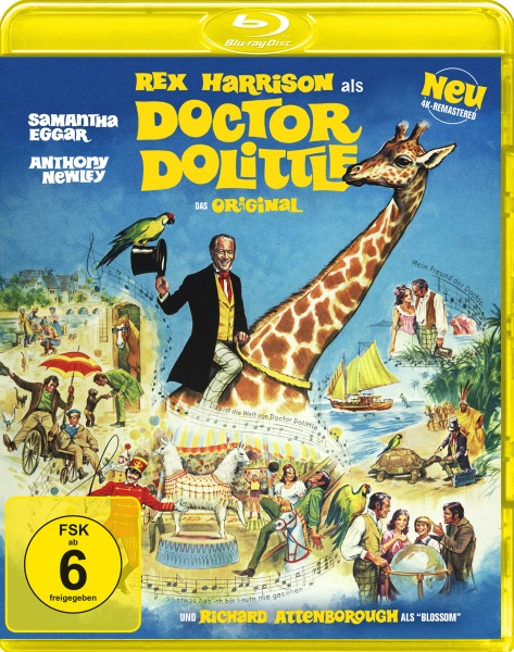 Doctor Dolittle - Das Original (4K-remastered) (Blu-ray)