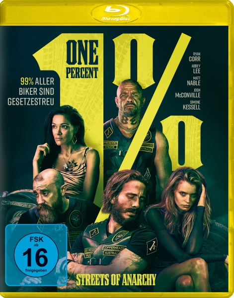 One Percent - Streets of Anarchy (Blu-ray)
