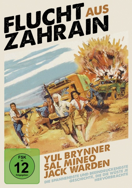 Flucht aus Zahrain (Escape from Zahrain) (DVD)