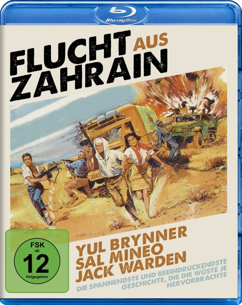 Flucht aus Zahrain (Escape from Zahrain) (Blu-ray)