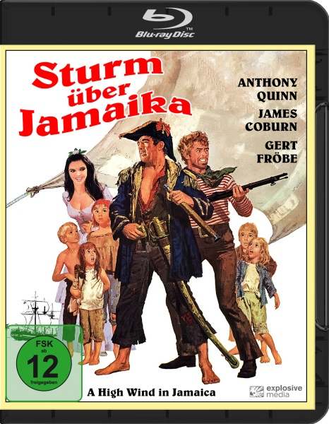 Sturm über Jamaika (A High Wind in Jamaica) (Blu-ray)