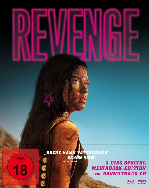 Revenge (Limited Mediabook, Blu-ray+DVD+Soundtrack CD)