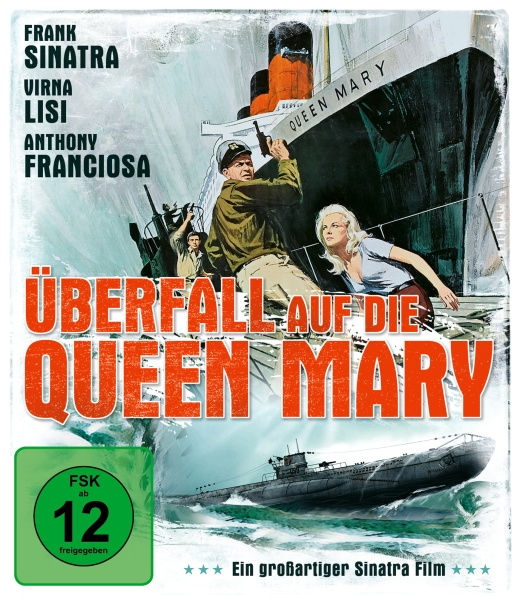 Überfall auf die Queen Mary (Assault on a Queen) (Blu-ray)