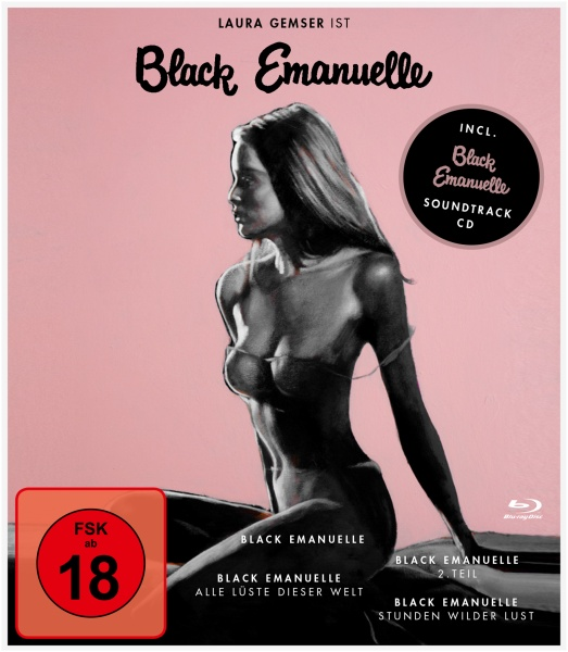 Black Emanuelle 1-4-Box (4 Blu-rays + 1 CD)