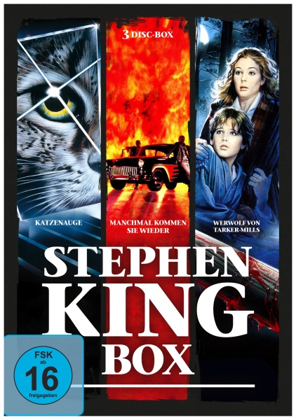 Stephen-King-Horror-Collection (3 DVDs)