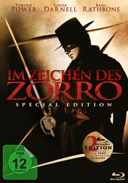 Im Zeichen des Zorro - Special Edition (The Mark of Zorro) (2 Blu-rays)